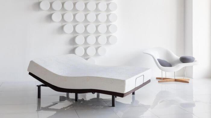 Изменяемая трансформируемая кровать основание Askona