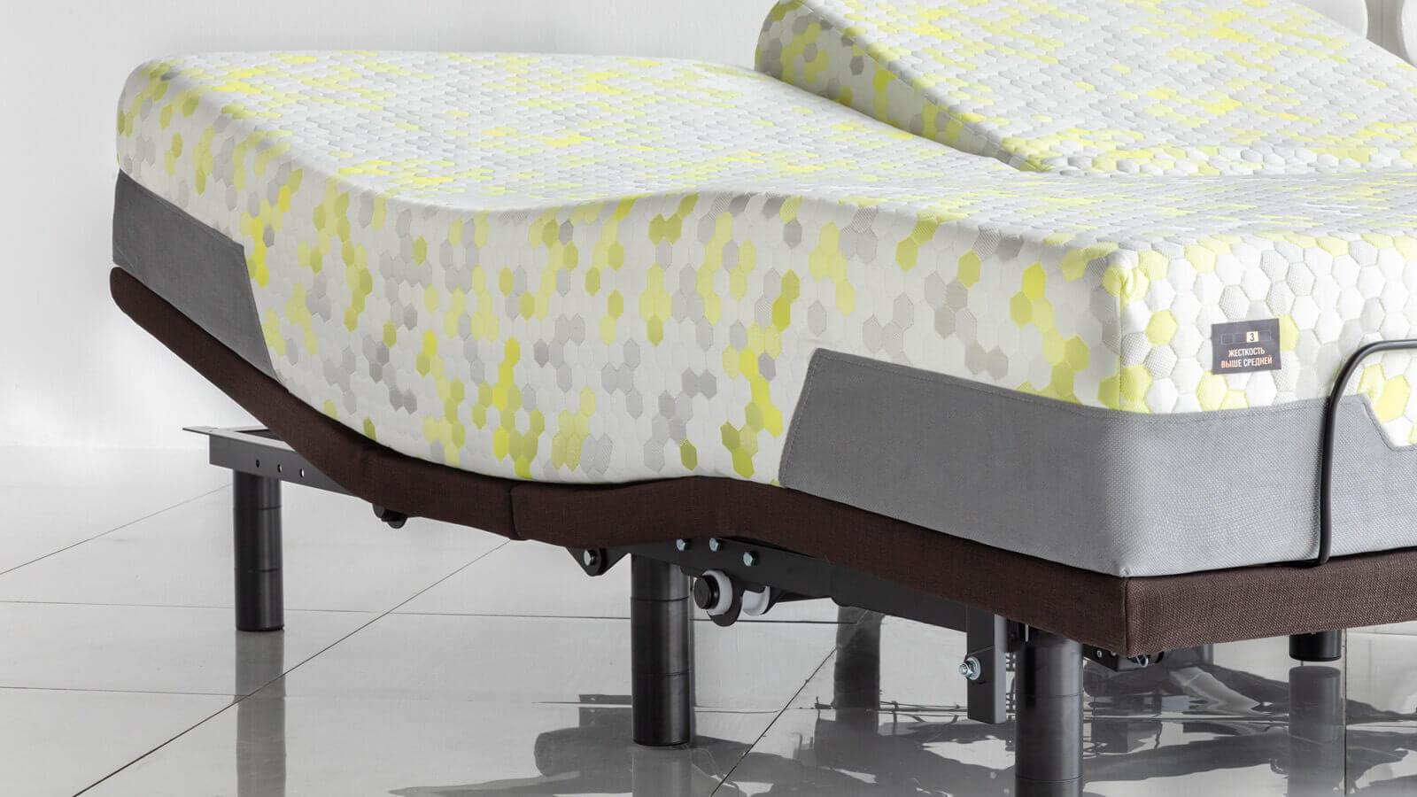 Электро основание кровать на пульте Askona