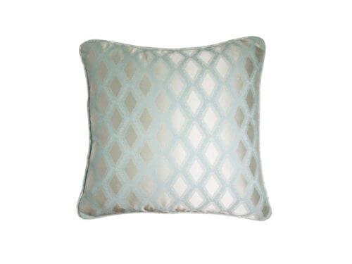 Декоративная подушка блестящая матная