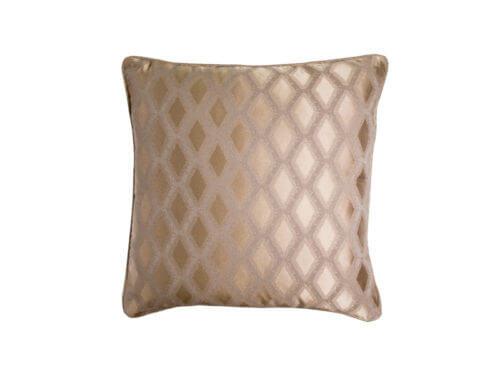 Декоративная подушка блестящая шоколад