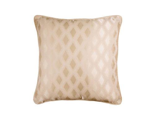 Декоративная подушка блестящая золотая