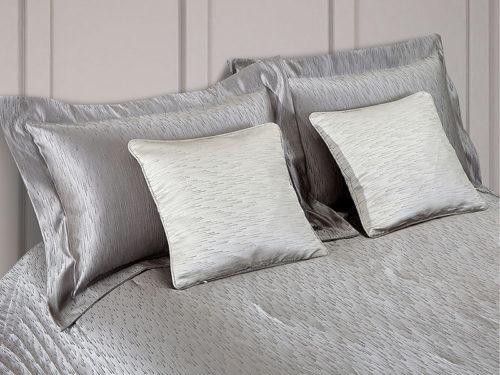 Постельное белье Asabella цвет серебро хлопок