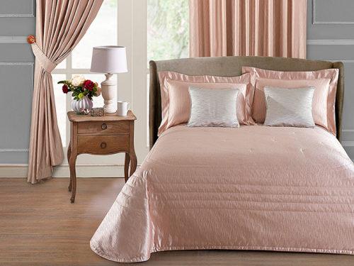 Постельное белье Asabella цвет розовый хлопок