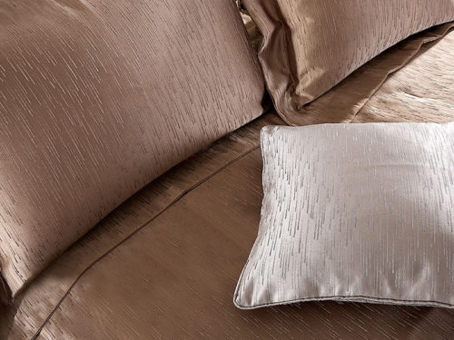 Постельное белье Asabella цвет бронза хлопок