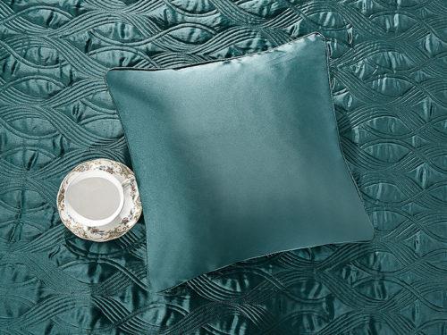 Постельное белье Asabella цвет зеленый хлопок